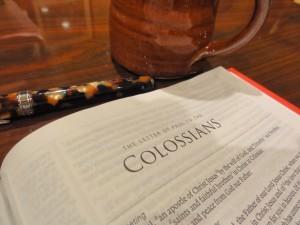 Memorizing Colossians – December Encouragement