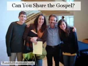 Can You Share the Gospel?