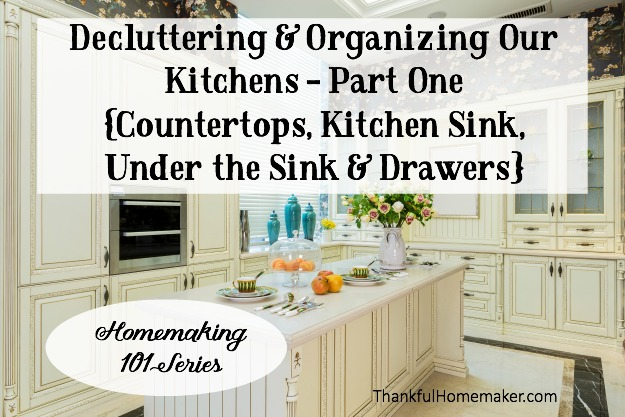 We Are Starting Small And In Todayu0027s Post Are Tackling Countertops, Kitchen  Sink, Under