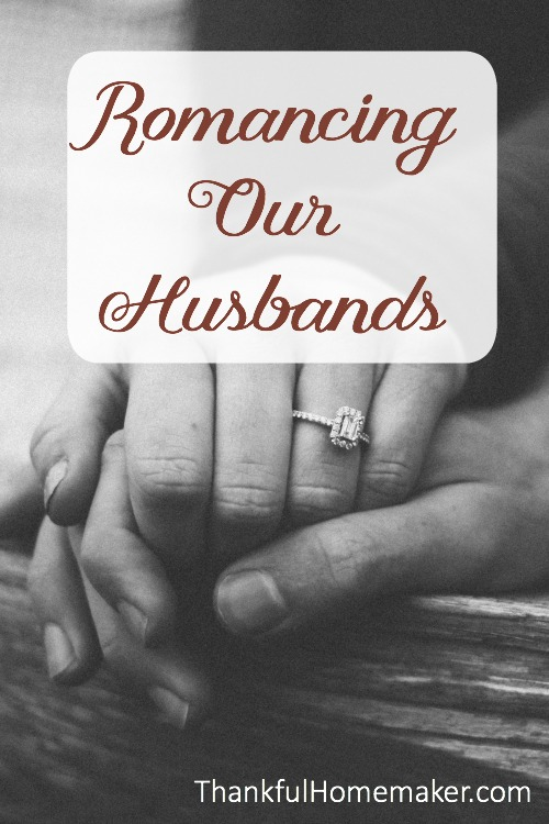 Do you find yourself so busy serving your husband that you don't take the time to truly delight in him?  @mferrell
