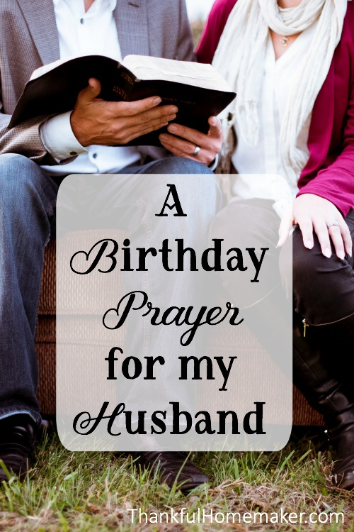 Groovy A Birthday Prayer For My Husband Thankful Homemaker Funny Birthday Cards Online Alyptdamsfinfo
