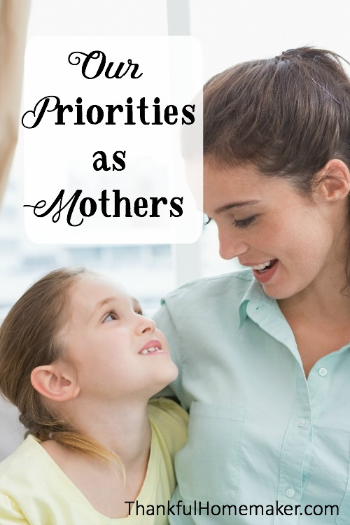 The job of being a mother can seem overwhelming at times. We have been given by God the gift of these beautiful children to train, nurture and participate along with Him in raising for His purposes. @mferrell
