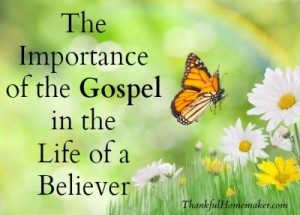 The Importance of the Gospel in the Life of a Believer