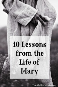 10 Lessons from the Life of Mary