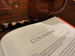 Memorizing Colossians – August Encouragement