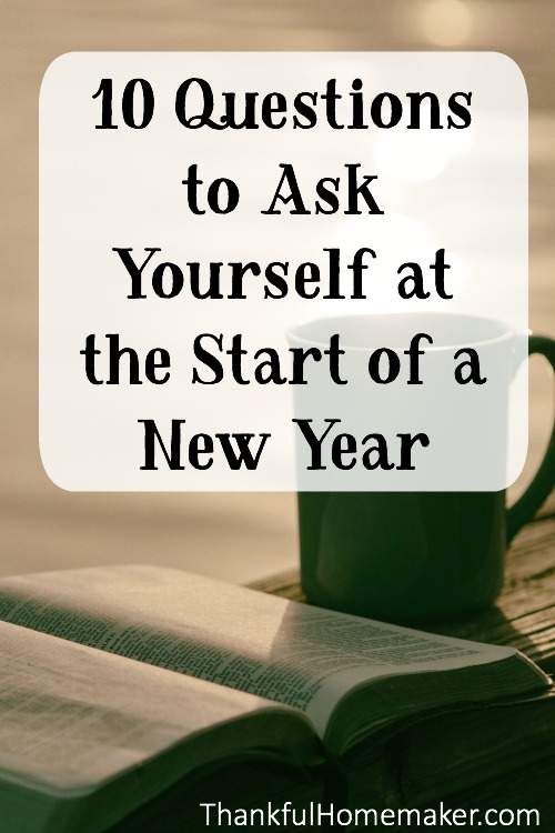 These are great questions to print out and tuck in your Bible for your own personal time of reflection or good discussion questions to work through together as a couple or family. @mferrell