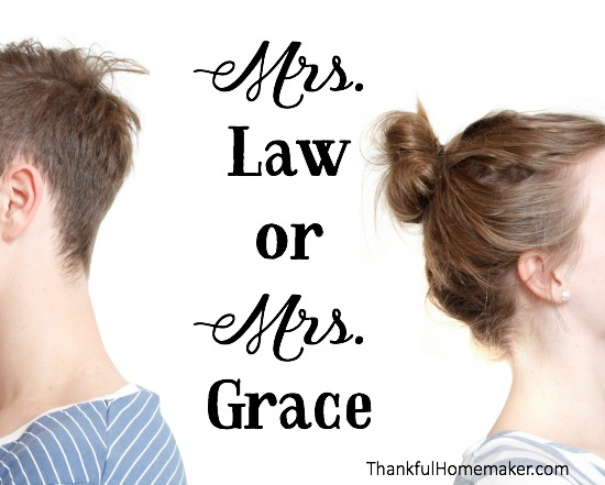 Would your husband think he is married to Mrs. Law or Mrs. Grace. @mferrell