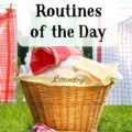 Having routines set in your day can make the whole day run smoothly and those routines tend to become habits over time. @mferrell