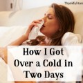 How I Got Over a Cold In Two Days @mferrell