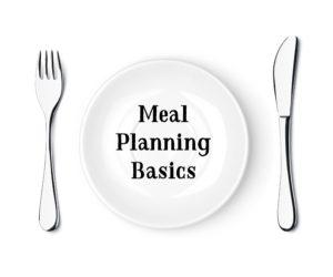 Homemaking 101 Series:  Menu Planning