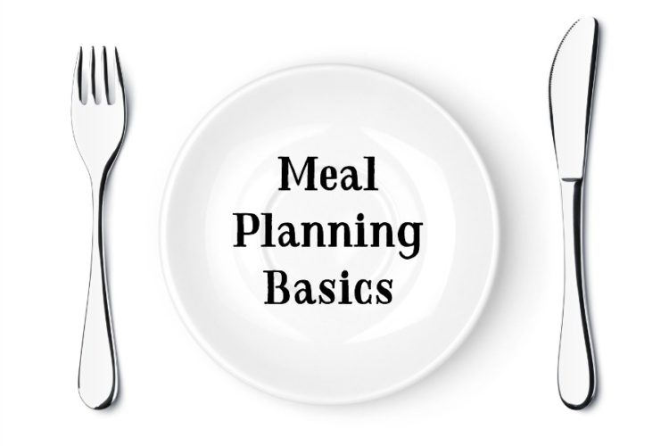 My simple meal planning basics in a nutshell. @mferrell