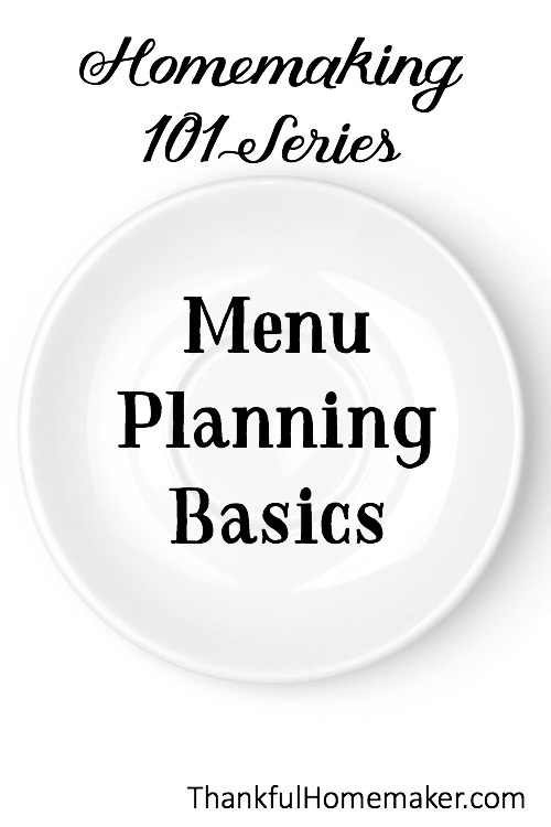 My Simple Meal Planning Method in a Nutshell. @mferrell