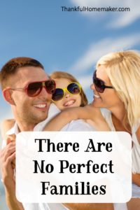 There Are No Perfect Families