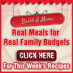 Menu Planning Made Easy for Less Than Three Dollars a Month!!