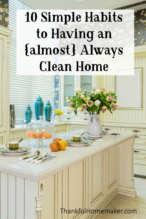 Let me share some simple tips that have helped me to always have a home that is tidy - not perfect - but tidy. @mferrell
