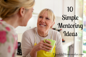 10 Simple Mentoring Ideas