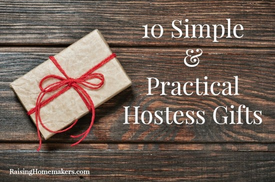 10 Simple & Practical Hostess Gifts