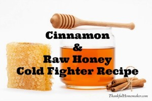 Cinnamon & Raw Honey Cold Fighter Recipe