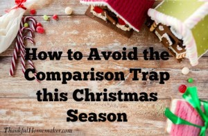 How to Avoid the Comparison Trap this Christmas Season