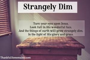 Strangely Dim