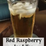 A simple way to make refreshing, healthy, red raspberry iced tea using your coffee maker Ingredients. #redraspberryicedtea @mferrell