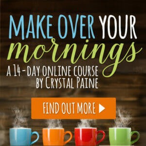 Maximize Your Mornings With Money Saving Mom's Make Over Your Morning Course