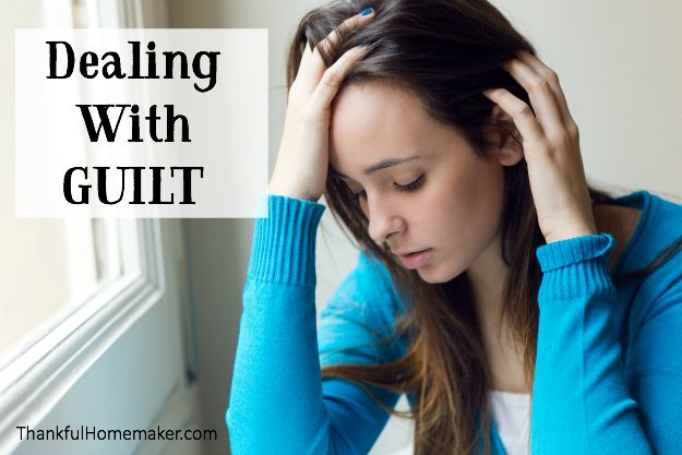 Dealing with Guilt - @Mferrell