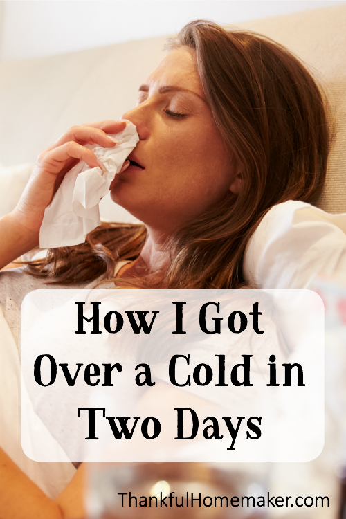 My colds usually linger forever - well okay, maybe a week but it feels like forever.  This time I was determined to be consistent in helping my body's immune system to kick in and fight this cold off asap.  @mferrell