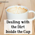 "The Pharisees were great at ""cleaning the outside of the cup"" but how often do we seek to deal with the garbage that is inside the cup. @mferrell"