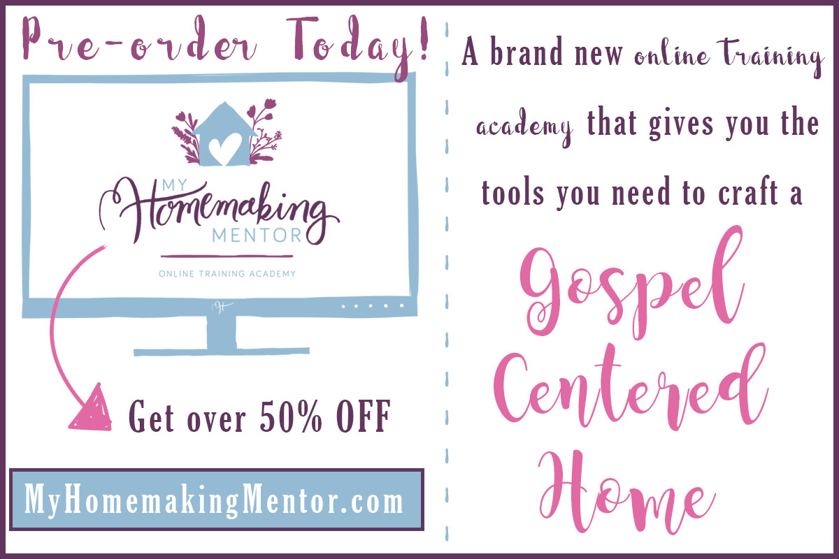 My Homemaking Mentor - Pre-orders