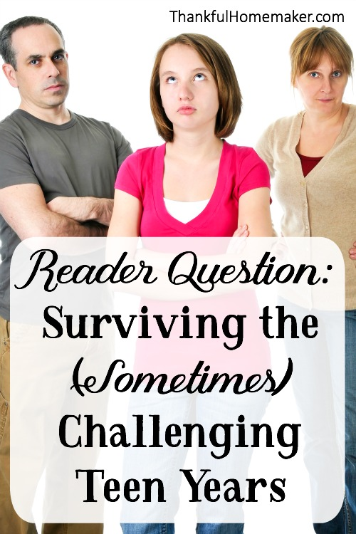 Reader Question:I'm actually asking for myself and another friend. We're both going through this pre-teen stage with out 12 year olds, hers a girl and mine a boy. How do you survive?! We're dealing with smart mouths and nasty attitudes and at a total lose as to how to lovingly navigate through this. @mferrell