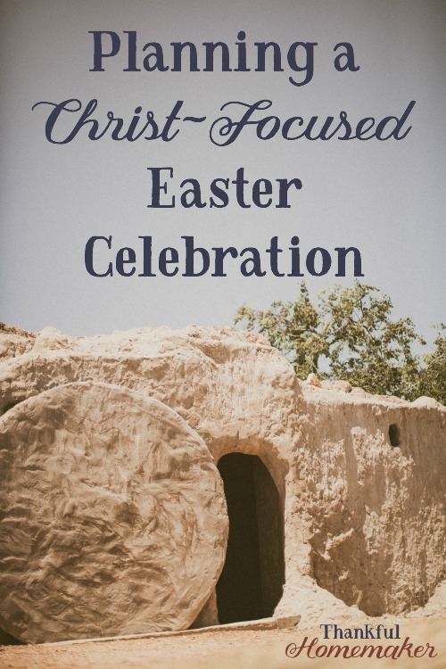 I desire our celebration of Easter or as many of us call it The Celebration of the Resurrection, to be Christ-focused. I want to share more than just our traditional meal together, I want to point my family to the gift of Jesus. #Christ-FocusedEaster #Celebratetheressurection #jesusisalive #eastercelebration #christianeaster #familyeasterideas @mferrell