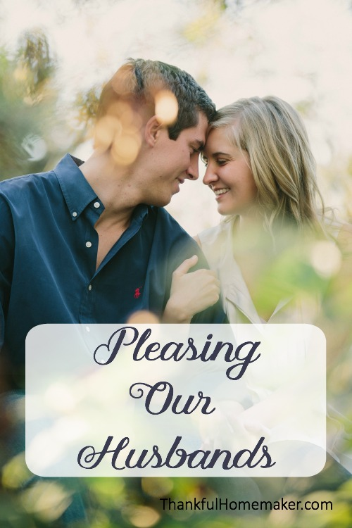 The Lord used my husband and my great love for him to get a better grasp on why I desire to please the Lord. It seemed so simple to me - because I love Him. @mferrell