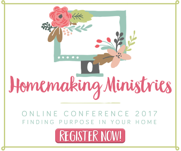 Announcing the 4th Annual {Online} Homemaking Conference!