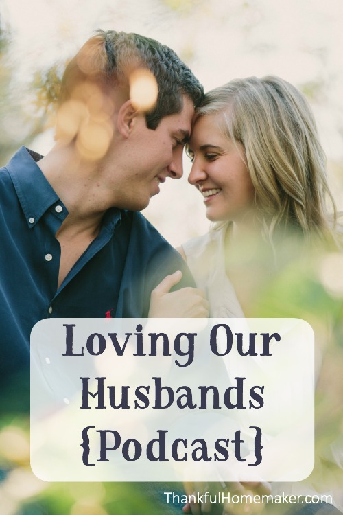 Praying that the Lord would help you as you listen in to this episode to dwell on the good things you see in your husband. @mferrell
