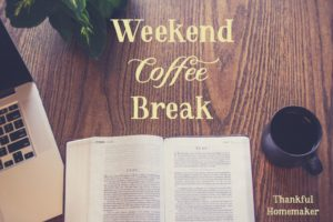 Weekend Coffee Break {September 29th}