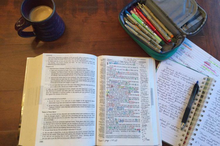 Inductive Bible Study & A Walk Through Ephesians