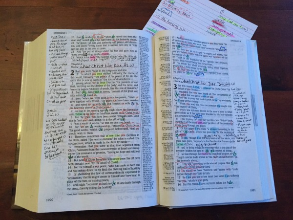 Studying a book inductively opens up spiritual riches I never realized were there.