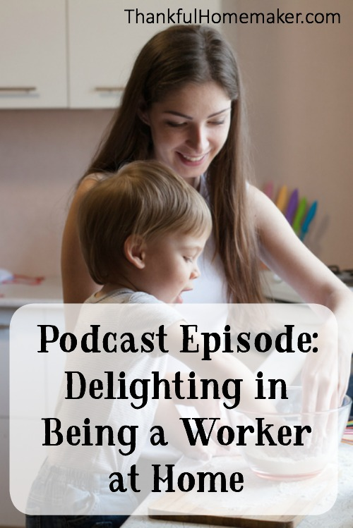 Do you delight in being a worker at home? My hope is to encourage you to be thankful in the role the Lord has called you in as keeper of your home.One of the ways we adorn the gospel is by the care of our family and home.@mferrell
