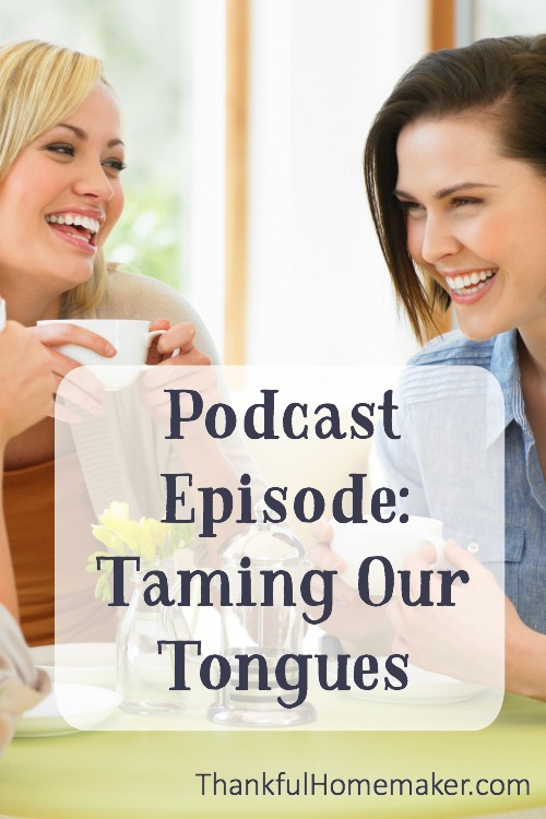 Our tongues can get us into so much trouble. We tend to have many words. @mferrell