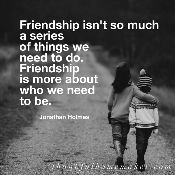 What Does The Bible Say About Friends And Friendship