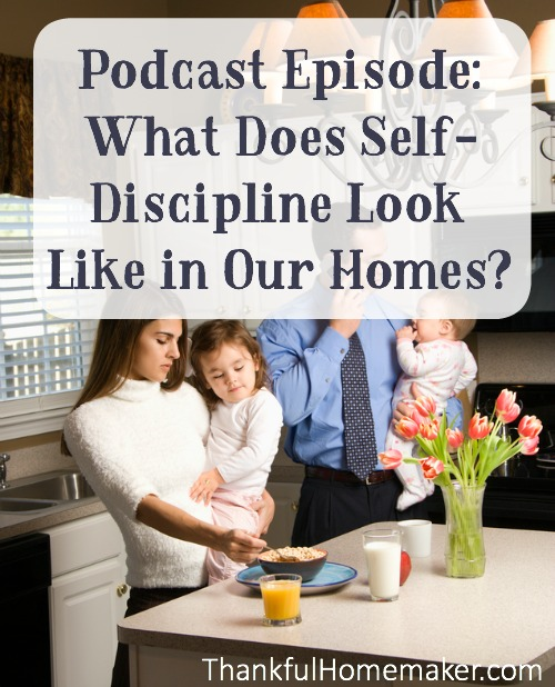Self Discipline is essential to spiritual growth and it is useful in our lives in so many ways. @mferrell