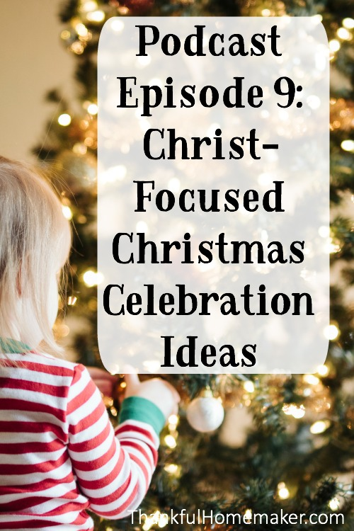 The Christmas season can be a time – a reminder to us to refocus - to again to think deeply about the realities of who Jesus is and what He has done for us. @mferrell