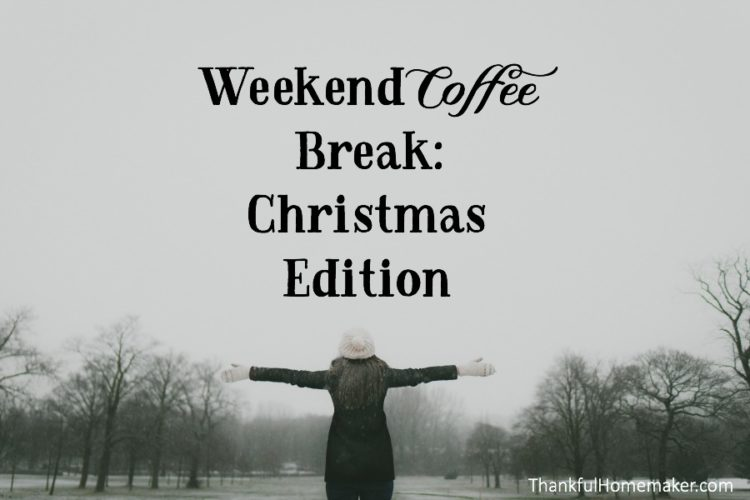 Weekend Coffee Break: Christmas Edition