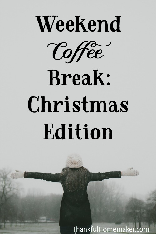Grab your coffee this weekend and sit with me as I share everything Christmas to read, listen to, watch, and ponder. @mferrell