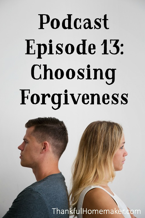 Forgiveness is a choice.  It is not a denial that whatever hurt has been done against you isn't real, but it does mean you need to face it and be reminded that not forgiving that sin against you is a sin in itself. @mferrell