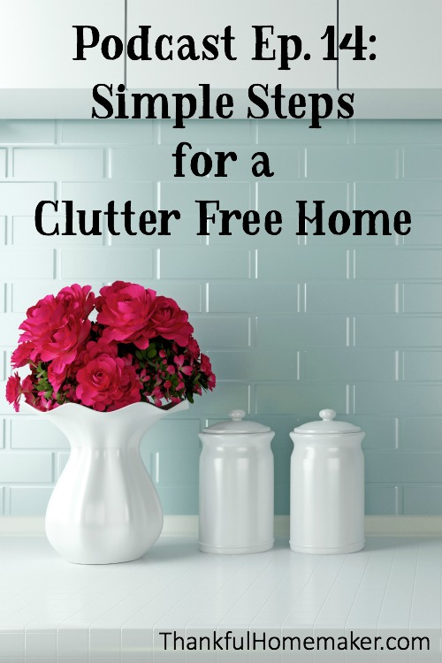 Clutter is a real enemy. Clutter can keep us from enjoying our families and homes as it takes up our time, can rob us of our joy, can add stress to our lives and takes up our living space. @mferrell