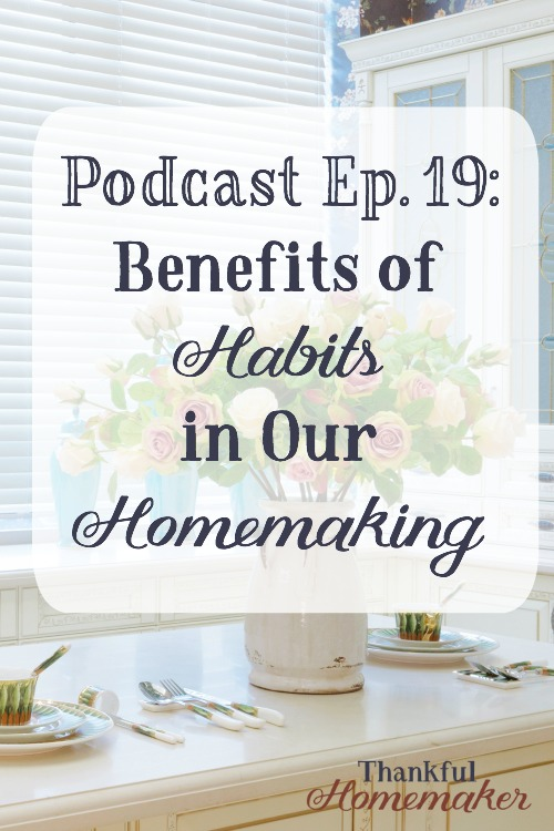 When we have built good habits into our home keeping, they can become time savers for us and create more freedom into our days. When we work through the day efficiently, I can almost guarantee you that you will have more free time to do the things you enjoy doing. #habits #hellomornings #homemaking #cleaning #morningroutine @mferrell