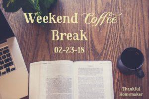 Weekend Coffee Break {February 23rd}