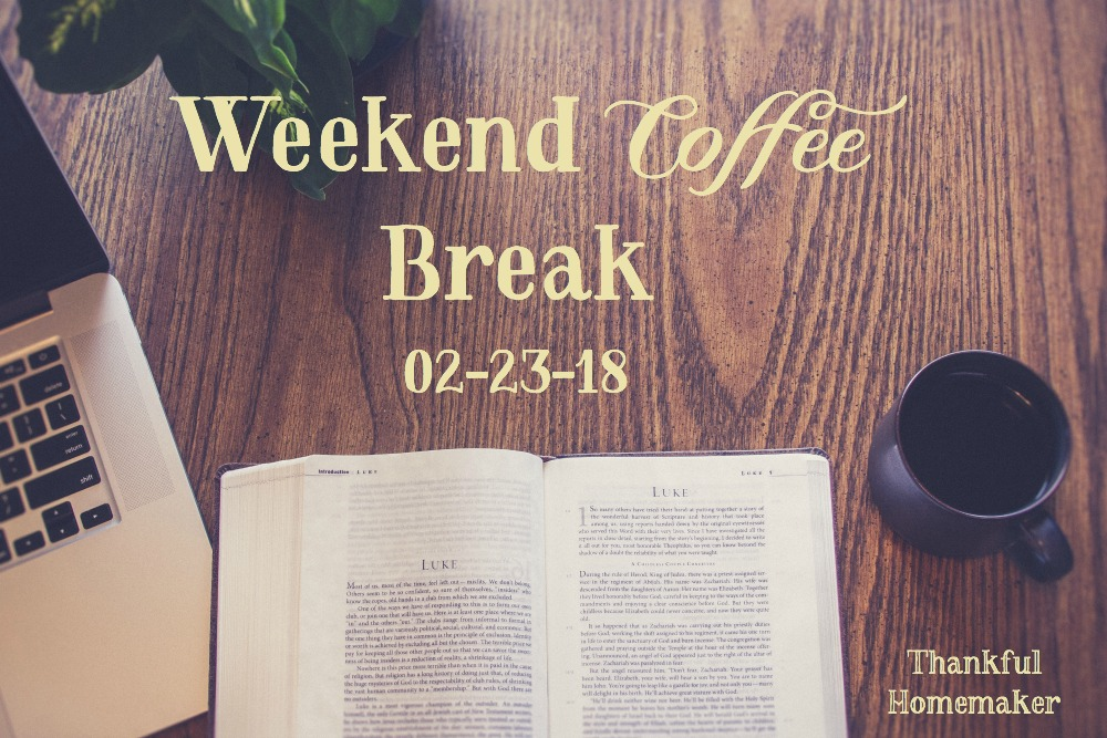 Sharing with you blog posts, podcasts, videos and much more to encourage you in your walk with the Lord this weekend. @mferrell